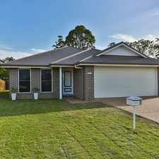 Rental info for Stunning Modern home in Cranley! in the Toowoomba area