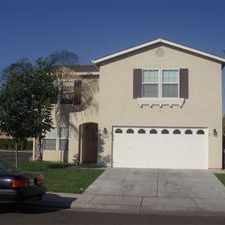 Rental info for Large living room and large family room, covered patio. North Merced.