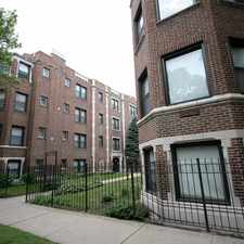 Rental info for 5034-5046 S. Woodlawn Avenue in the Kenwood area