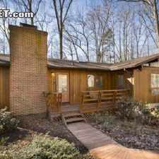 Rental info for Four Bedroom In Albemarle County