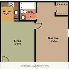 Rental info for Sykesville, Great Location, 2 bedroom Apartment.