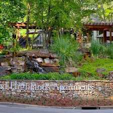 Rental info for Grand Highlands at Mountain Brook in the Birmingham area