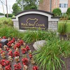 Rental info for Black Bear Creek