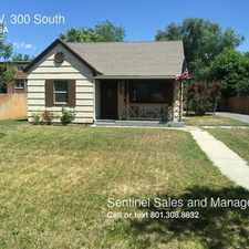 Rental info for 942 W. 300 South