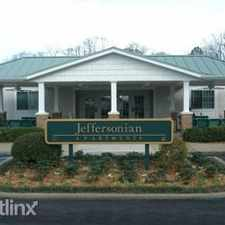 Rental info for Jeffersonian Apartments