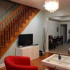Rental info for 4729 Sansom Street