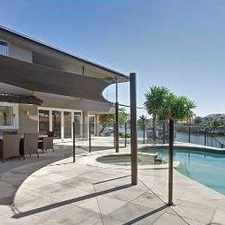 Rental info for STUNNING WATERFRONT MASTERPIECE in the Gold Coast area