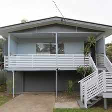 Rental info for Beautiful highset in the Thorneside area