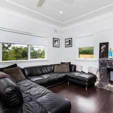 Rental info for Modern Convenience Three Bedroom House in the Sydney area
