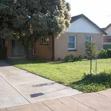 Rental info for TENANT ACCEPTED - NO MORE APPLICATIONS! in the Elizabeth Vale area