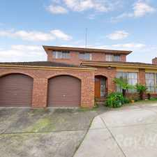 Rental info for A 4+ bedroom, 2 bathroom family home in Endeavour Hills in the Endeavour Hills area