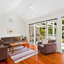 Rental info for Large 4 bed House in Mosman