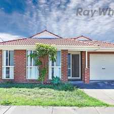 Rental info for ITS A HOME AT FIRST SIGHT in the Altona Meadows area