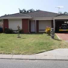 Rental info for GREAT FAMILY HOME!! in the Perth area