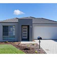 Rental info for BE THE FIRST TO LIVE IN THIS BRAND NEW HOME! in the Perth area