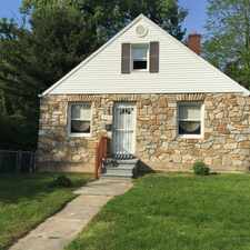 Rental info for Cape Cod style single family home located in nice northeast area. Fenced in yard and basement. Convenient to public schools, shopping,receational facilities and employment centers. in the Lauraville area