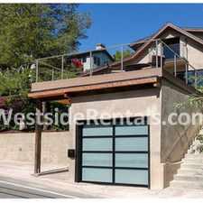 Rental info for Topanga Bali Modern home