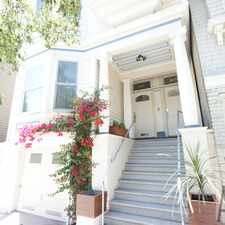 Rental info for 1721 Lyon Street in the Lower Pacific Heights area