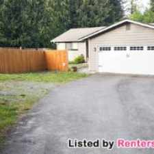 Rental info for 3-bed 1.75-bath Rambler In Bonney Lake $1600!