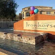 Rental info for Ironhorse at Tramonto