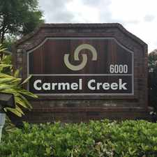 Rental info for Carmel Creek