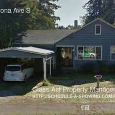 Rental info for 330 Madrona Ave S