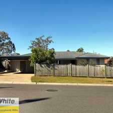 Rental info for REFURBISHED FAMILY HOME... WITHIN WALKING DISTANCE TO ALGESTER PRIMARY SCHOOL in the Brisbane area