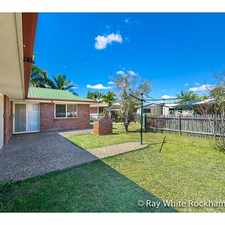 Rental info for Located Perfectly! in the Rockhampton area