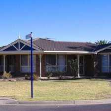 Rental info for Family HOME IN QUIET LOCATION in the Adelaide area