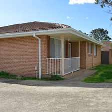 Rental info for WELL PRESENTED COMPLEX in the Sydney area