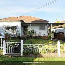 Rental info for Well presented family home with minutes to station! in the Yagoona area