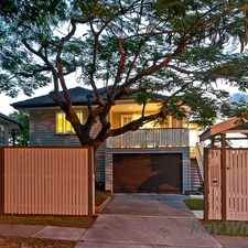 Rental info for STUNNINGLY RENOVATED QUEENSLANDER in the Brisbane area