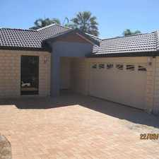 Rental info for LARGE FAMILY HOME in the Leeming area