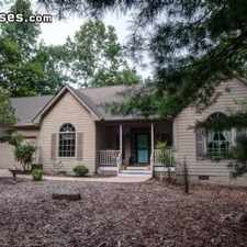 Rental info for Four Bedroom In Transylvania County