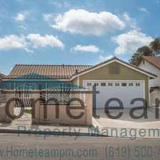Rental info for 2328 Lanao Lane in the Otay Mesa West area