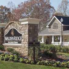 Rental info for Walden Ridge Apartment Homes