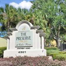 Rental info for Preserve at Cedar River Apartments in the Confederate Point area