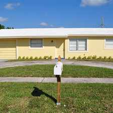 Rental info for Fully renovated, fantastic house. Master suite has its own bathroom. Large fenced in back yard, quiet street with manicured family park at end of the street. Landscaping is provided by L/L. This house will NOT last!Thi in the Riviera Beach area