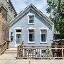 Rental info for Be at Home in Bucktown in this Beautifully Rehabbed Home!