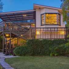 Rental info for Elegant family home in tranquil corner setting