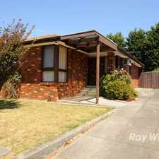 Rental info for Ideal Family Home in the Rowville area