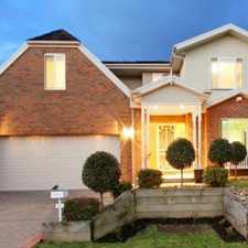 Rental info for Amazing Style & Presentation in the Rowville area