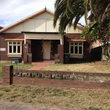 Rental info for Renovated Home in the Earlwood area
