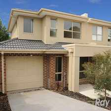 Rental info for 3 Bedroom Townhouse! in the Dandenong area