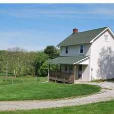 Rental info for Absolutely adorable cottage on a farm near Fair Hill.