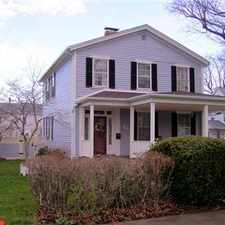 Rental info for Spacious Colonial in village of Geneseo