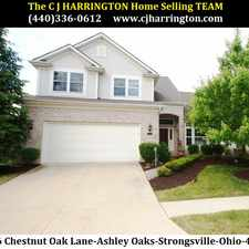 Rental info for Ohio Real Estate-15436 Chestnut Oak Ln(Strongsville, Ohio 44149)(440)336-0612 or WWW.CJHARRINGTON.COM