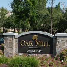 Rental info for Oak Mill