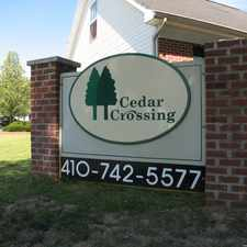 Rental info for 134 Cedar Crossing Road