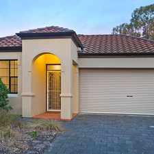 Rental info for Tuscan Style Villa Is A Winner All Round in the Adelaide area